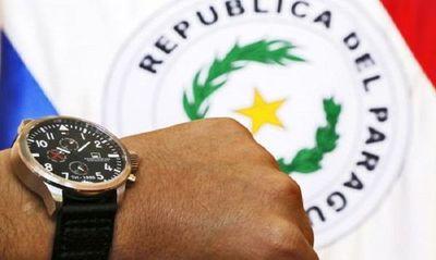 Senadores rechazan proyecto de ley que establece horario de verano como horario oficial del Paraguay