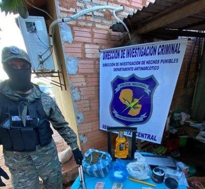 HOY / Mini laboratorio de cocaína en un lavadero de la ciudad de Itá