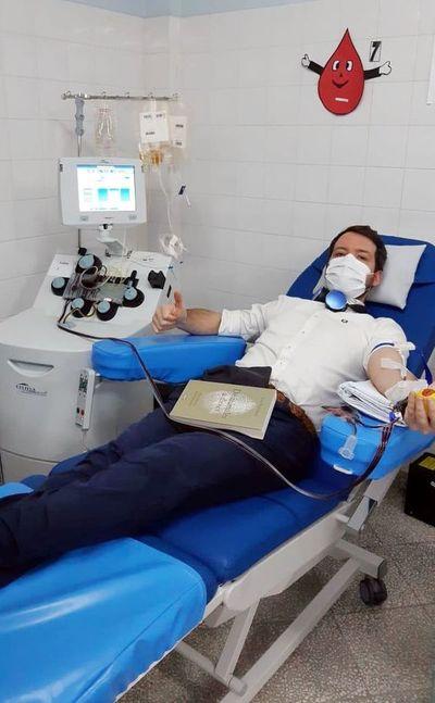 Disminuyó donación de plasma por parte de pacientes recuperados de COVID-19