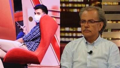 """Inesperado choque entre panelistas de """"TeleShow"""""""