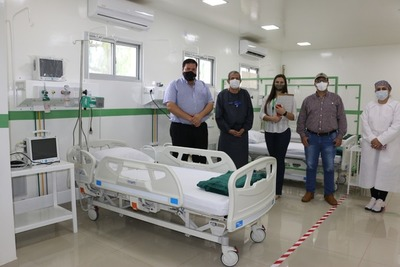 Hospital de Fram es equipado a nuevo por el Gobierno, a través de la EBY