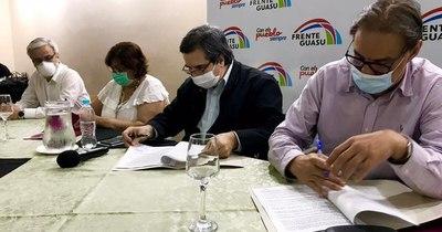 La Nación / Frente Guasu reafirma concertación y dice que disputará todos los cargos