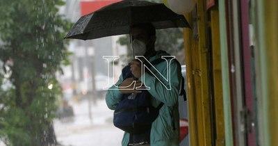 La Nación / Lluvias y tormentas afectarán a cinco departamentos desde esta noche