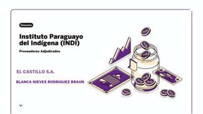 Resultados de contrataciones del Instituto Paraguayo del Indígena (INDI) en el mes de octubre  del 2020