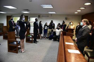 CIDH celebra juramentación de Kimberly ante la Corte Suprema de Justicia