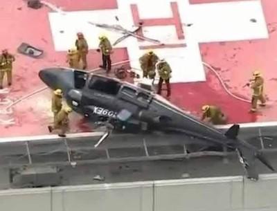 Llevaban un corazón para trasplante en helicóptero y se estrelló, al final salvaron el órgano.