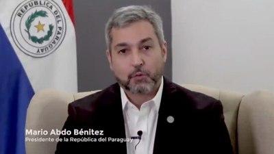 """Abdo augura que Benigno sabrá representar al """"Paraguay de la gente"""" en el BID"""