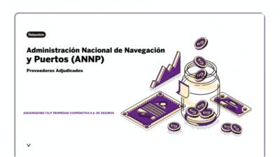 Resultados de contrataciones de la Administración Nacional de Navegación y Puertos (ANNP) en el mes de octubre  del 2020