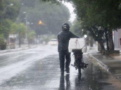 Intensas lluvias y vientos que podrían superar los 100 km/h