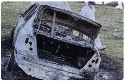 Hallan cuerpo dentro de vehículo incendiado en Remanso