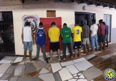 Nueve detenidos y 5 aprehendidos en operativo antimotochorros en Luque •