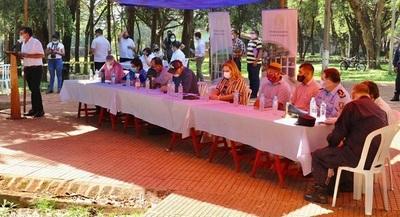 Senadores escuchan inquietudes de pobladores de Mayor Otaño