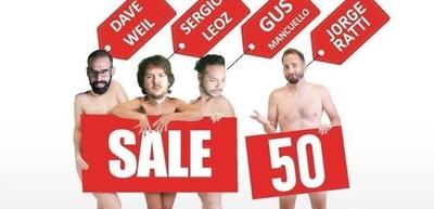 HOY / Con nuevo equipo, el show de stand up 'Sale 50' continúa en el Teatro Latino