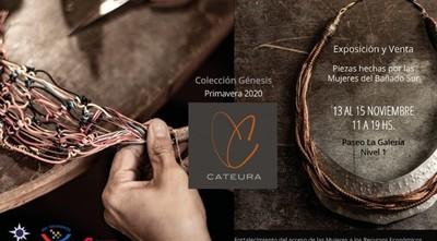 Muestra de joyas de cobre de Cateura hechas por mujeres