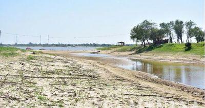 Río Paraguay volvió a preocupante racha de descenso