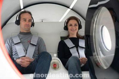 El futuro ya llegó: Hyperloop Virgin realiza un importante paso en el desarrollo del transporte a velocidades supersónicas