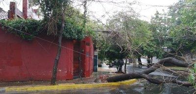 Asunción y Central son las principales zonas afectadas sin energía eléctrica