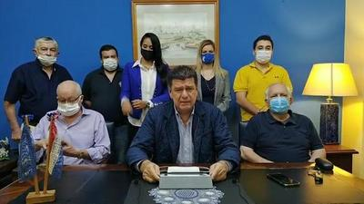 Efraín Alegre inauguró convención liberal con críticas a colorados
