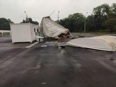 COVID-19: puesto de la Caminera fuera de servicio tras temporal