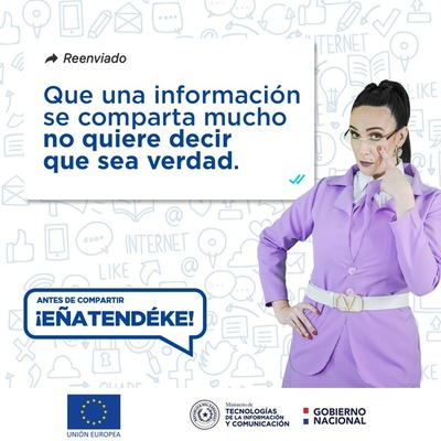 Invitan a foro en línea sobre experiencias en el combate a la desinformación