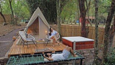 Glamping, la exótica modalidad para acampar que está causando furor