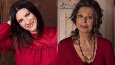 "HOY / Laura Pausini: ""Trabajar con Sophia Loren me dio aire, me sentía inútil"""