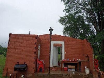 Temporal dejó varios destrozos en el Departamento de Caaguazú