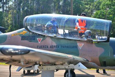 Militares realizan vigilancia aérea en zona de reserva de Itaipú