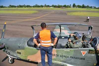 Militares realizan vigilancia aérea en reservas de Itaipu
