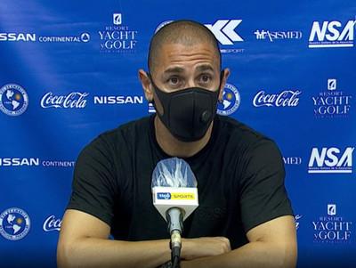 Conferencia de prensa de Sergio Orteman