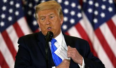Trump se declara ganador de las elecciones