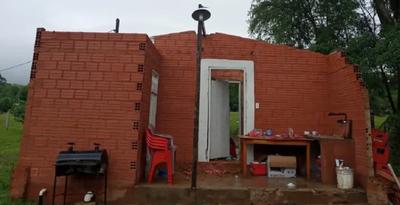 Varios destrozos en el Departamento de Caaguazú tras temporal