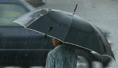 Lunes con lluvias dispersas y ocasionales tormentas eléctricas.
