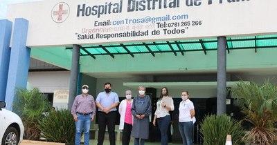 La Nación / Hospital de Fram recibió 14 camas hospitalarias y otras mejoras edilicias