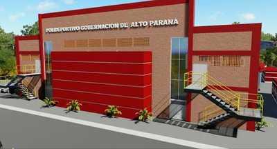 Gobernador González Vaesken construirá OTRO POLIDEPORTIVO en CDE cuando hay DEFICIT en salud y educación