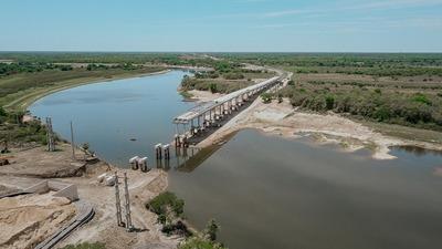 Ñeembucú: Avanza puente de 1.175 metros sobre Río Tebicuary