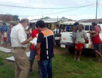 Bañados de Asunción los más afectados por el temporal del fin de semana