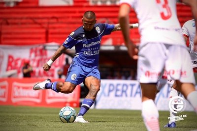 Víctor Ayala marcó un golazo en la derrota de Gimnasia ante Huracán