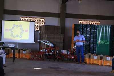 Gobierno Nacional apoya con implementación de proyecto a productores de Caaguazú