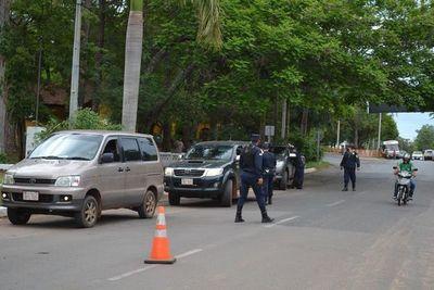 Controlan ingreso de personas en San Juan