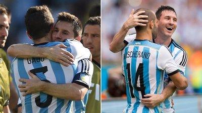 Messi se despidió de Mascherano y Gago con un emotivo mensaje a través de sus redes sociales