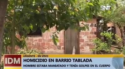 Asesinan a reciclador en Tablada Nueva
