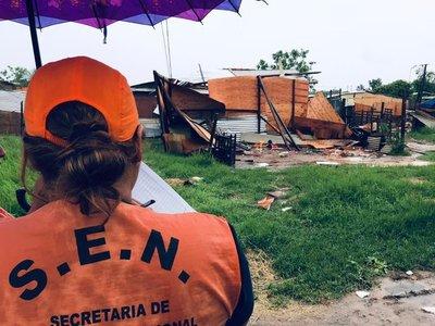 SEN sigue asistiendo a familias afectadas por el temporal del fin de semana