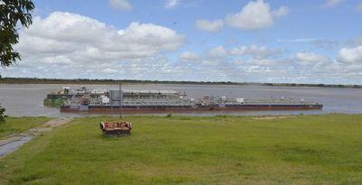 El río Paraguay creció 13 centímetros gracias a las lluvias del fin de semana