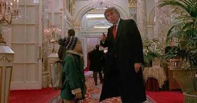 Donald Trump habría 'forzado' su aparición en 'Mi pobre angelito 2'