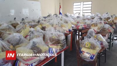 ÚLTIMA ENTREGA DE KITS DE VÍVERES DEL ALMUERZO EN 130 ESCUELAS DE ITAPÚA.