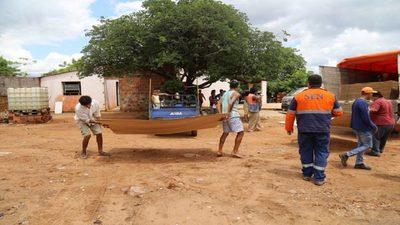 1.000 viviendas impactadas en los Bañados