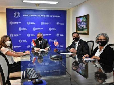 Cancillería informa objetivos  de aporte de EEUU a Paraguay