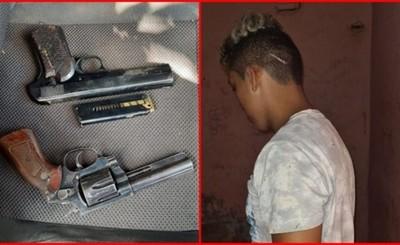 Imputan a joven que arrojó un revólver mientras huía de la policía