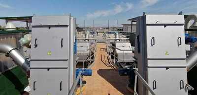 Avanza en 74% la construcción de la Planta de Tratamiento de Aguas Residuales de Varadero